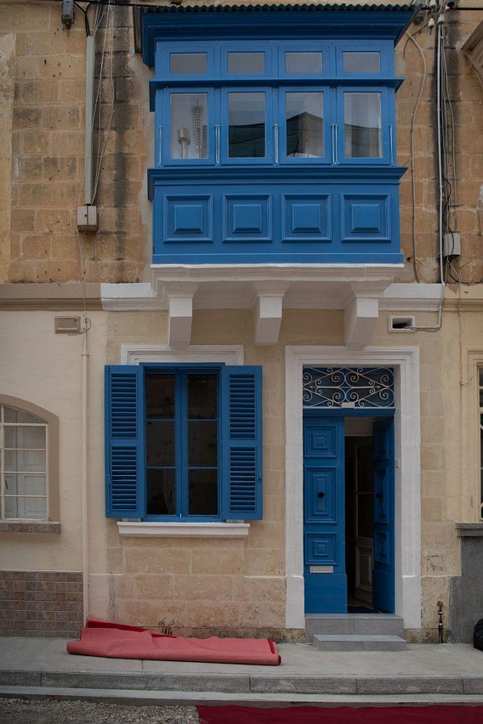 Facade of Alberto Marvelli residence