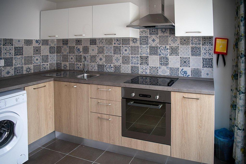 Kitchen at the Alberto Marvelli residence