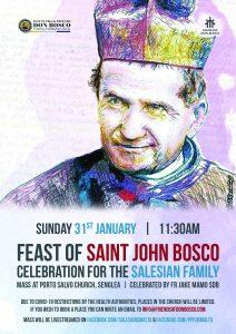 Feast of St. John Bosco for the Salesian Family